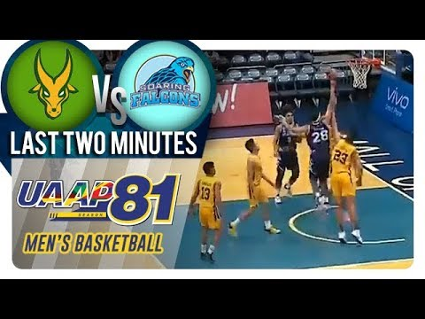 UAAP 81 MB: FEU vs. AdU | Last Two Minutes | November 18, 2018