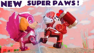 New Mighty Pups Charged Up Powers for Paw Patrol Marshall ⚡ with the Family Friendly Funlings