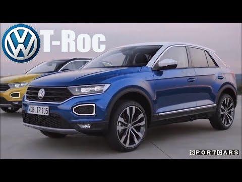 All-new Volkswagen Troc - Interior Exterior - Der neue VW T-Roc 2018 - SPORT Cars
