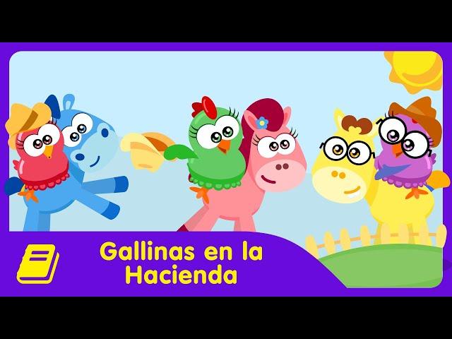 Gallina Pintadita Mini - Historieta - Gallinas en la Hacienda