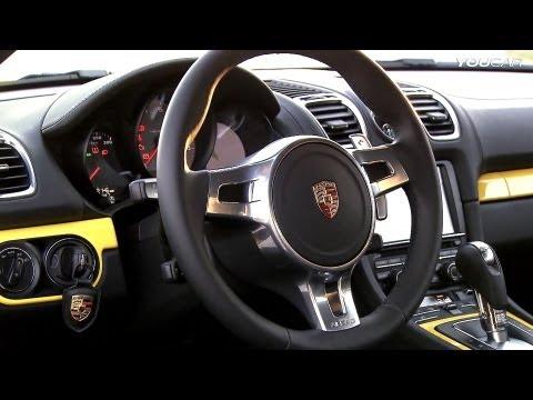 2013 Porsche Cayman S - INTERIOR