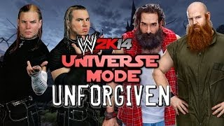 WWE 2K14: Universe Mode - A New Era - 19 - UNFORGIVEN (Hardy Boyz vs Wyatt Family)