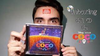 Unboxing Disco de COCO Disney • Pixar | Diego Lóppz
