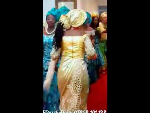 Traditional Wedding between Tanzanian and Nigerian Comperèd By Dazzlin Daizy