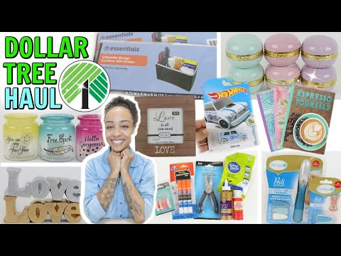 DOLLAR TREE HAUL! THE ITEMS YOU ASKED FOR! SO MANY NEW FINDS AND MORE!
