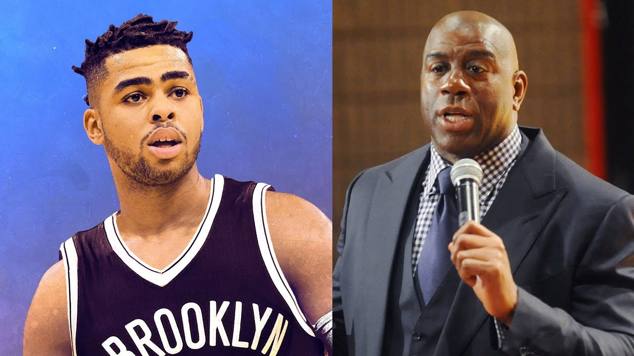 Were you aware that the Lakers had D'Angelo Russell but traded him?