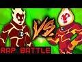Heatblast VS Heatblast - #8 Cartoon Wars (RAP BATTLE)