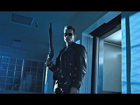 Terminator 2: Hospital Escape l Sarah Connor Meets T800 l 4K Remastered 3D