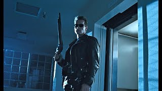 Terminator 2: Hospital Escape l Sarah Connor Meets T800 l 4K Remastered 3D