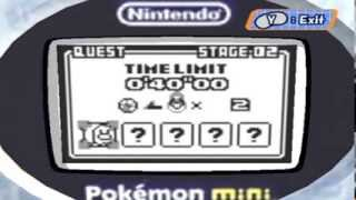 Random Gameplay 37: Pokemon Mini Petit Games