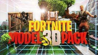 Fortnite 3D Model Pack V2