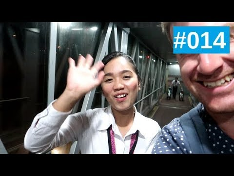 ✈ VLOG 14   I'M GOING TO ASIA ! - Perth to Kuala Lumpur with Malindo air !