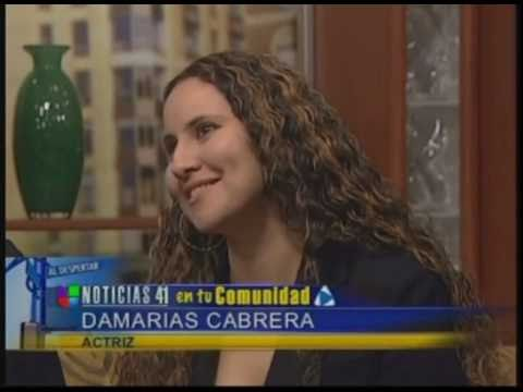 Damaris Cabrera's TV Interview on Univision along with Miriam Colon