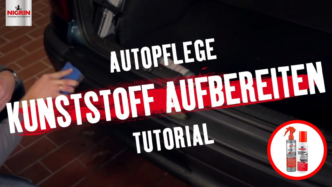autopflege tutorial kunststoff aufbereiten youtube. Black Bedroom Furniture Sets. Home Design Ideas