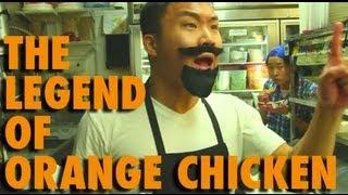 Who Invented Orange Chicken? (skit)
