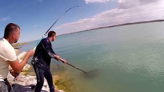 Рыбалка на озере Балхаш