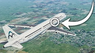 This Plane Was About to Crash. Why Didn't It? Daallo Airlines Flight 159 | 4K