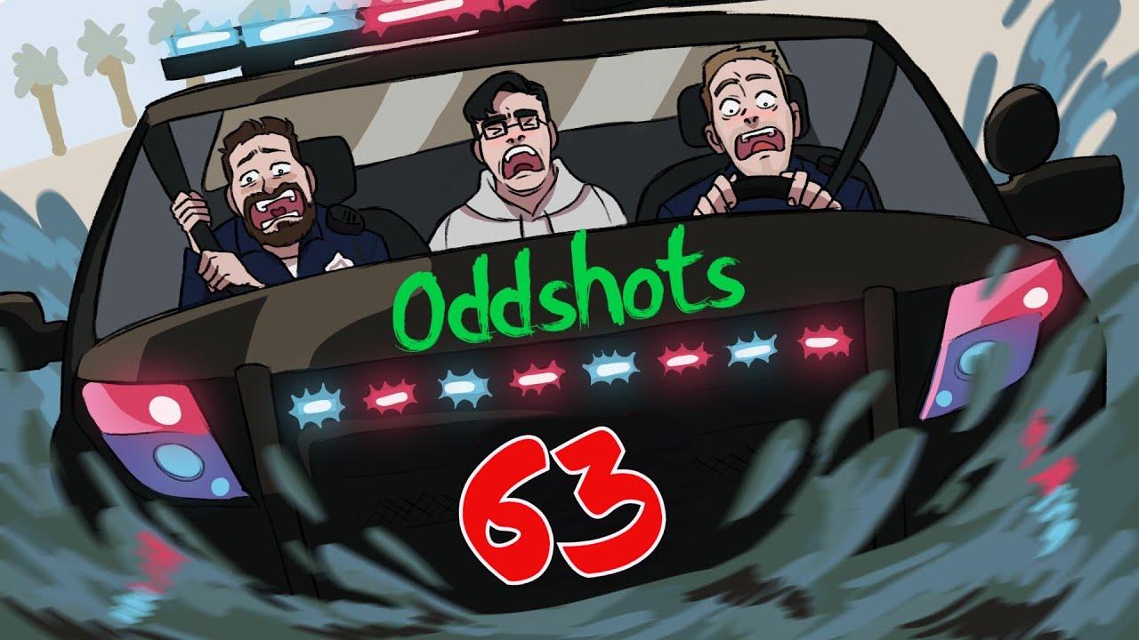 GTA V Roleplay - FiveM Oddshots CZ/SK #63 Pěkně skočil šipku 🤣🤣