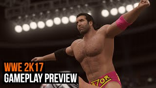 WWE 2K17 Gameplay Preview