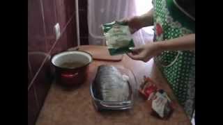 Маринованная рыба без уксуса.  Толстолобик  Дёшево и вкусно.
