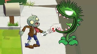 Plants Vs Zombies GW Animation - Episode 17 - Chomper vs Skeleton Zombie  (Clash Of Clans)