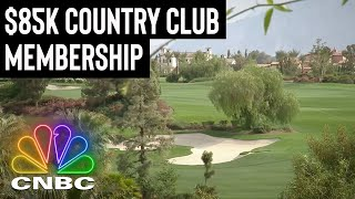 THIS COUNTRY CLUB WILL COST YOU AN 85K INITIATION FEE | Secret Lives Of The Super Rich