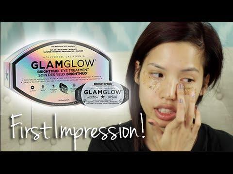 impression review glamglow brightmud eye treatment youtube