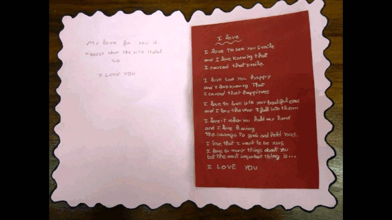 Concurso 2012 de postales de san valent n en ingl s youtube - Cartas de san valentin en ingles ...