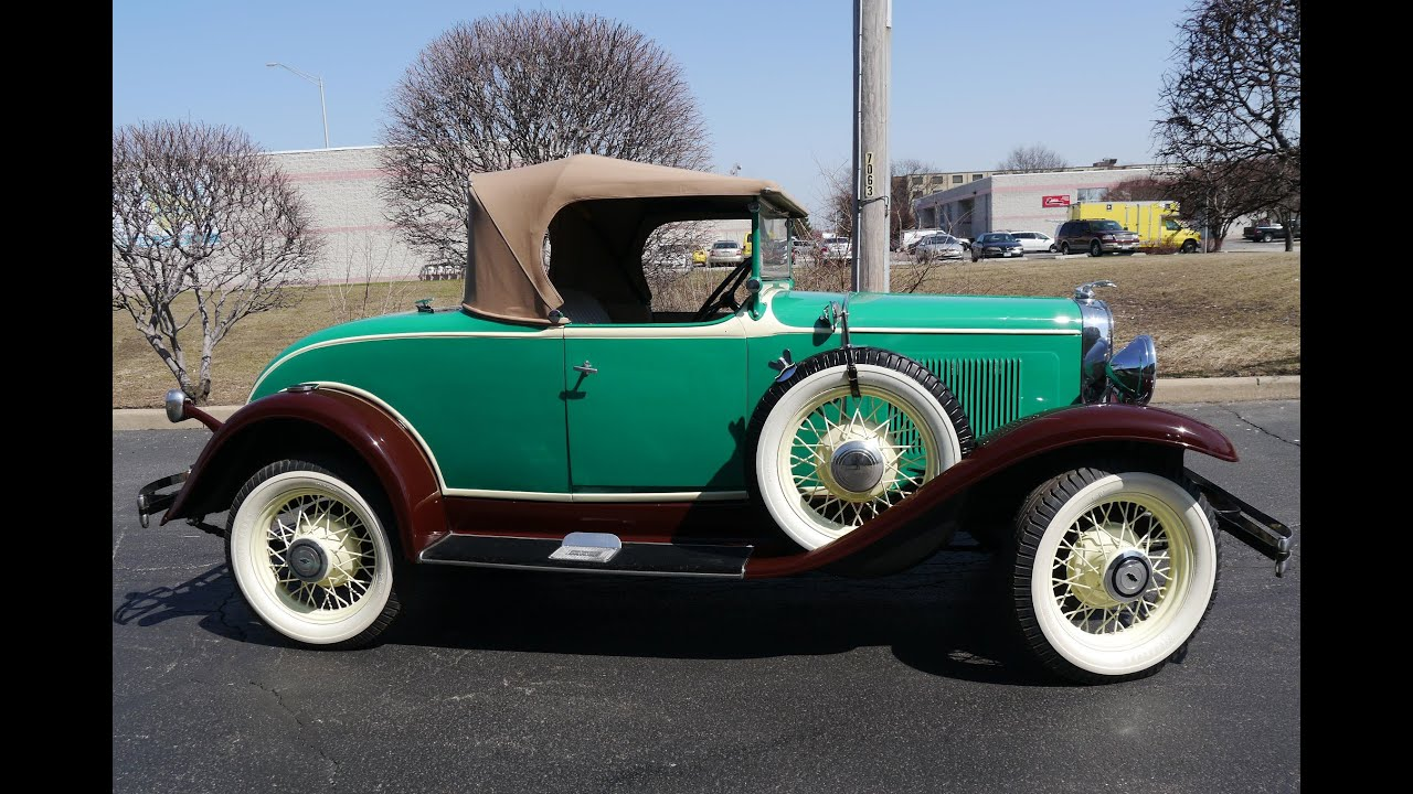 1931 Chevrolet Independence Roadster ***FOR SALE*** - YouTube
