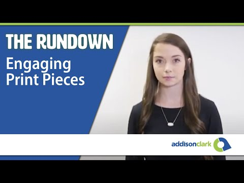 The Rundown: Engaging Print Pieces
