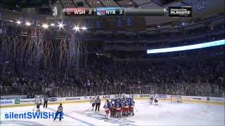 Rangers Tie and Beat Capitals in Game 5 (2012 Eastern Semis)