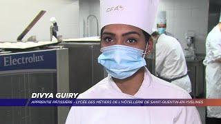 Yvelines | Divya Guiry, une apprentie pâtissière Yvelinoise