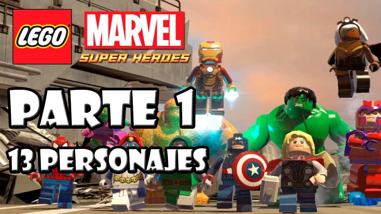 Lego Marvel Super Heroes Guia Desbloqueo De Personajes Parte 1