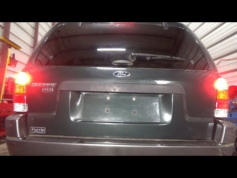 Brake Tail Light Bulb Replacement 2001 2005 Ford Escape
