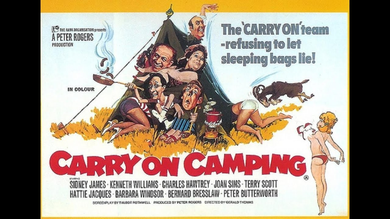 Carry On Camping Characters - YouTube