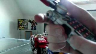 DX Daibouken Boukenger french review