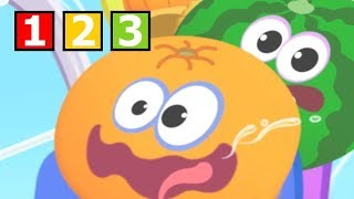 Baby Learn Numbers 1 2 3 With Funny Food ! Math kids Number Games - Educational Games For Kids