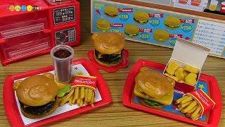 Cooking Puchi Food Hamburger Shop バンダイ クッキンぷっちん ハンバーガーショップ