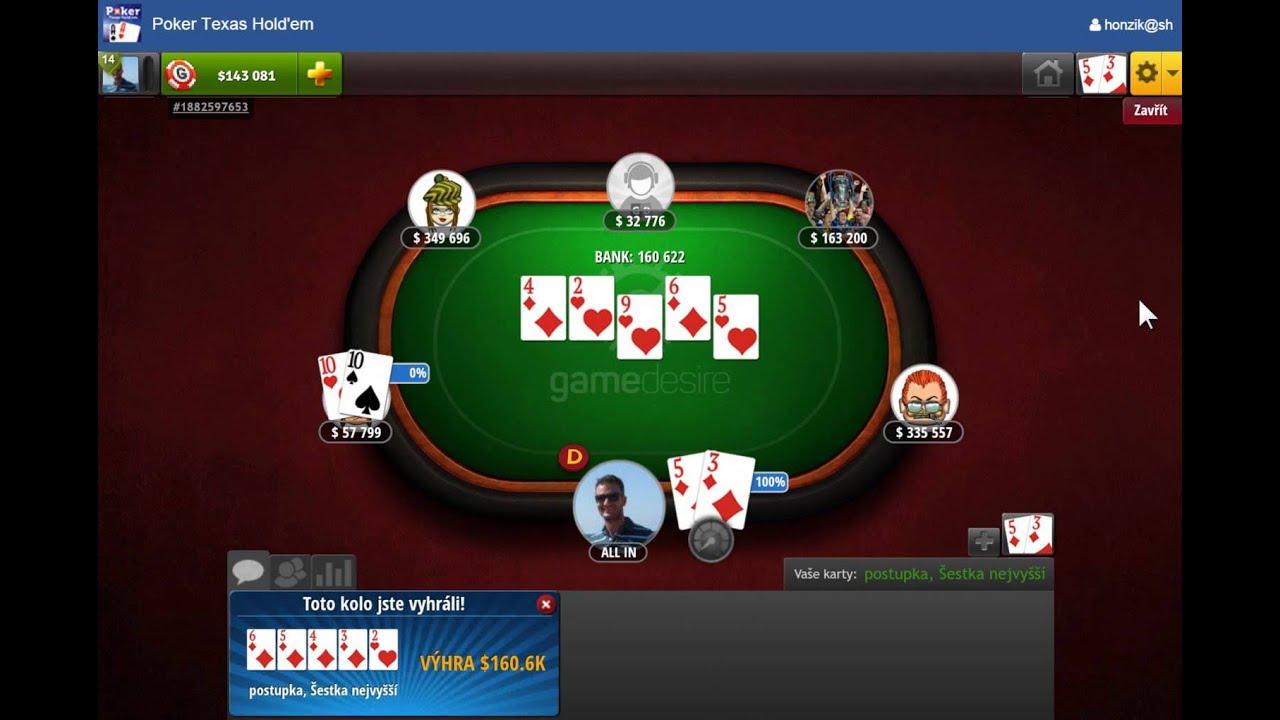 Hry poker texas holdem zdarma