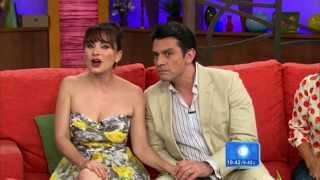 Jorge Salinas y Elizabeth Álvarez en Despierta America