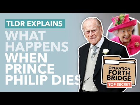 The Secret Plan for Prince Philip's Death: Operation Forth Bridge Explained - TLDR News