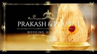 Prakash & Poorni   Wedding Highlight   Candid Video HD   Cristal Pixel Studios