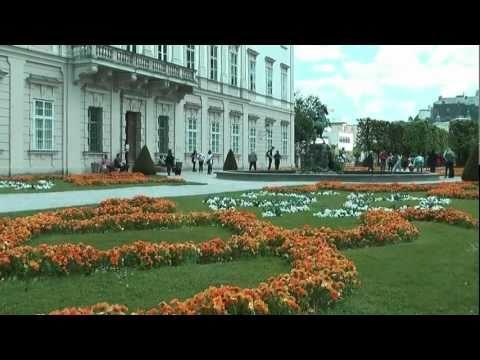 Mirabell Gardens, Salzburg - Mozart and the Sound of Music
