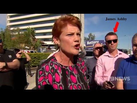 """Pauline is crap, send her back!"": Pauline Hanson meets more resistance"