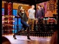 Nina Dobrev Flirts With Tim Tebow During 'Let's Get It On': Watch 'Lip Sync Battle' Preview