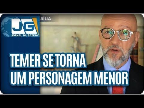 Josias de Souza/Temer se torna um personagem menor