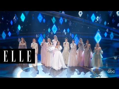 2020奧斯卡|10國Elsa齊聲唱《冰雪奇緣2》主題曲「Into The Unknown」,大陣仗演出提名歌曲!