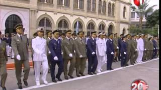 حفل تقليد الرتب و الأوسمة في عيد الجيش الوطني 24 06 2014