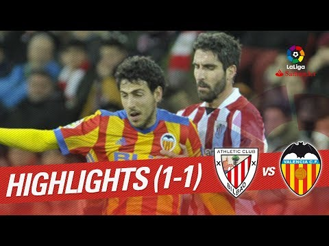 Resumen de Athletic Club vs Valencia CF (1-1)