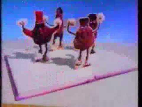 California Raisins Rap - Books Check Em Out Ad from 1991